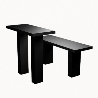 Стол, лавка прямоугольные