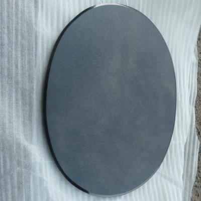 Плитка овальная черная